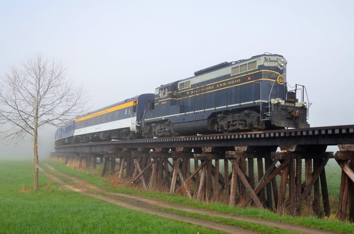 3. Potomac Eagle Railroad