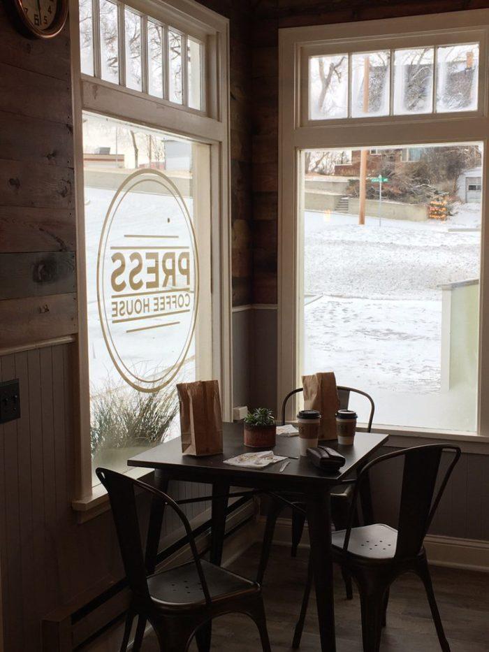 6. Press Coffeehouse, Glendive