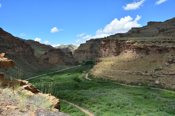 9. Price: A picturesque canyon filled with Native American art.