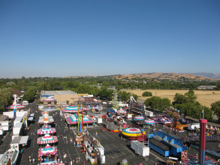 5. Pleasanton, Alameda County Fair