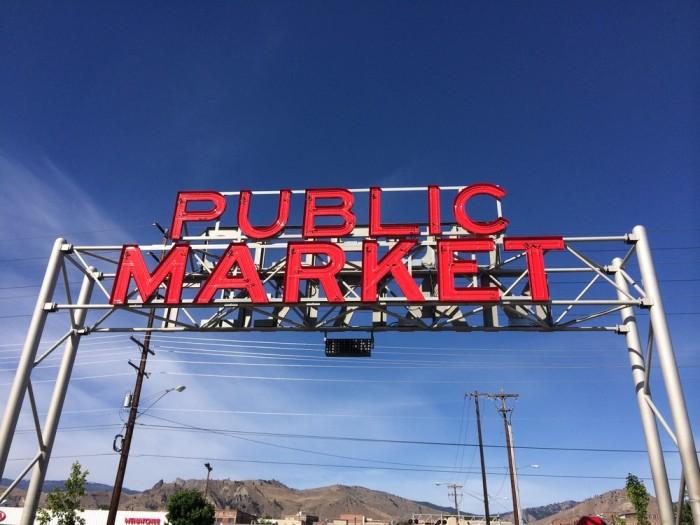 2. Pybus Public Market (Wenatchee Valley)