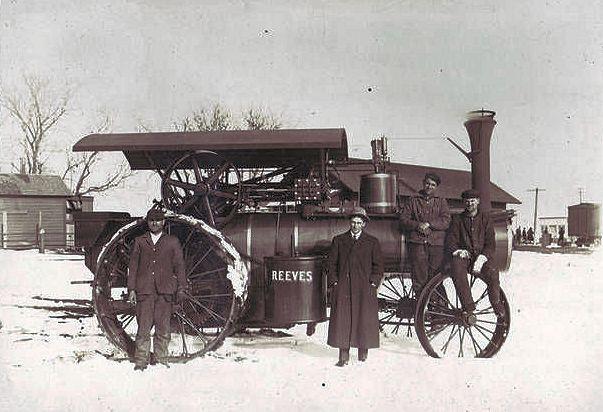 reeves-steam-engine