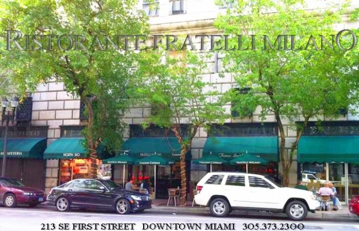 10. Ristorante Fratelli Milano, Miami
