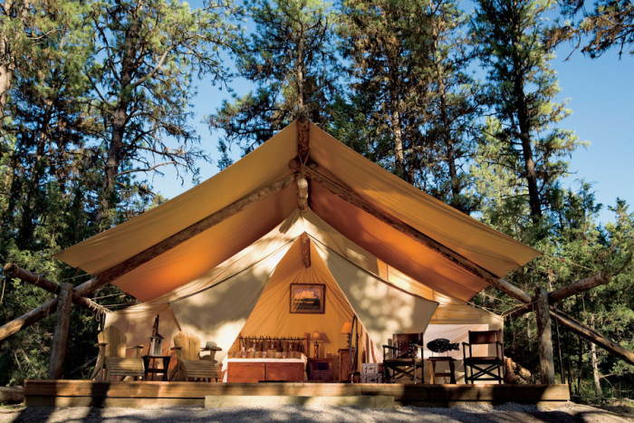 8. The Resort at Paws Up, Montana