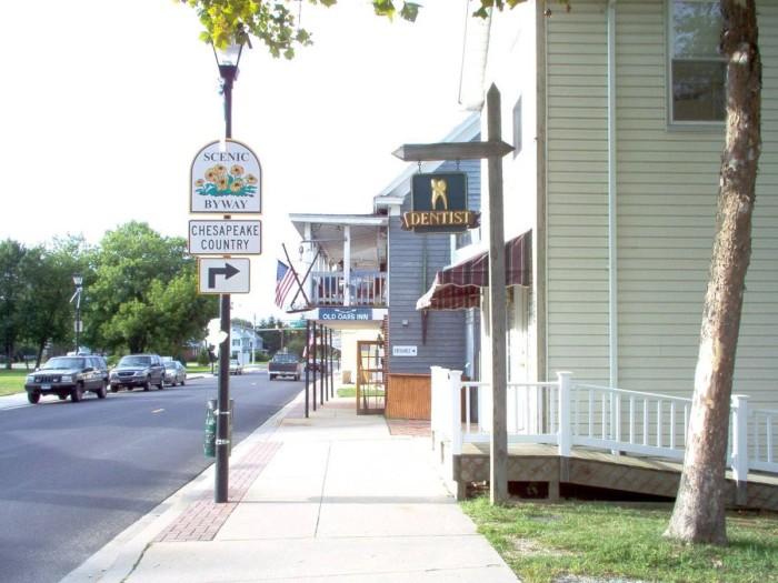 4. Rock Hall, Kent County