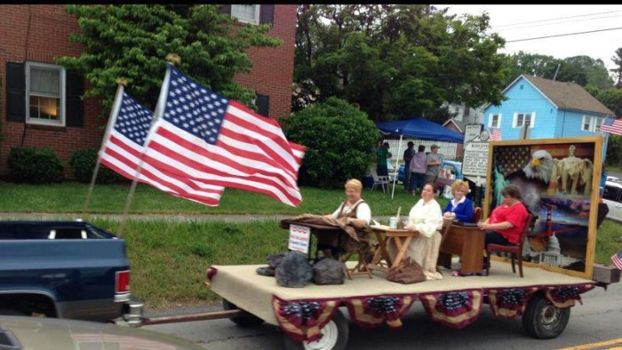 ronceverte river festival parade