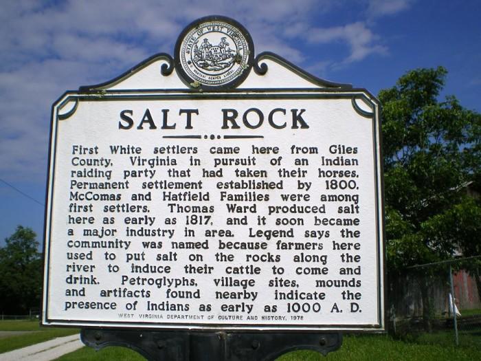 4. Salt Rock, Population 388