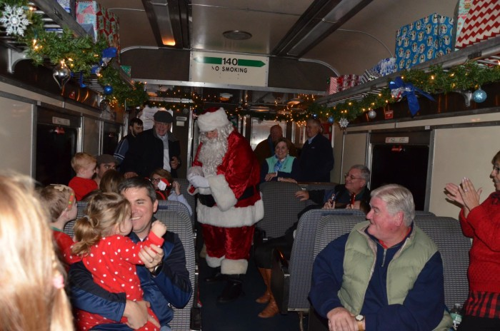 9. The Polar Express via Saratoga & North Creek Railway