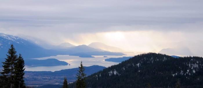 1. Schweitzer Mountain Summit