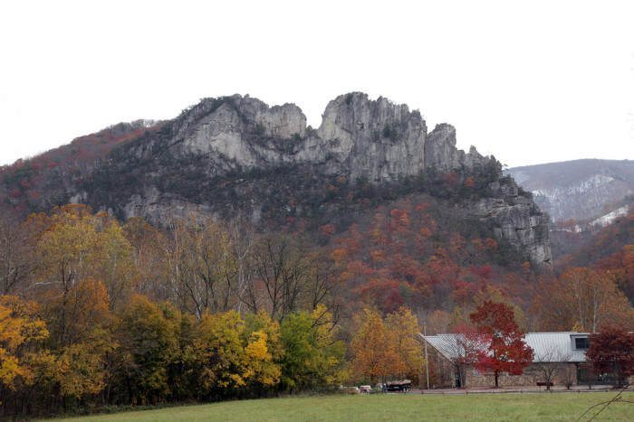 5. Seneca Rock