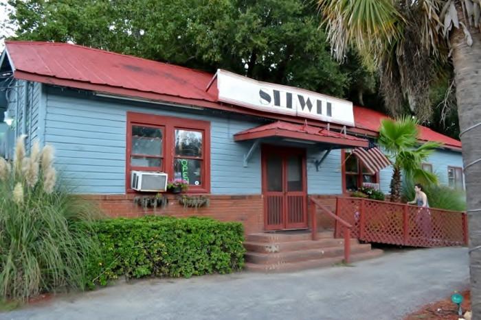 13. Seewee Restaurant in Awendaw (4808 N Hwy 17)