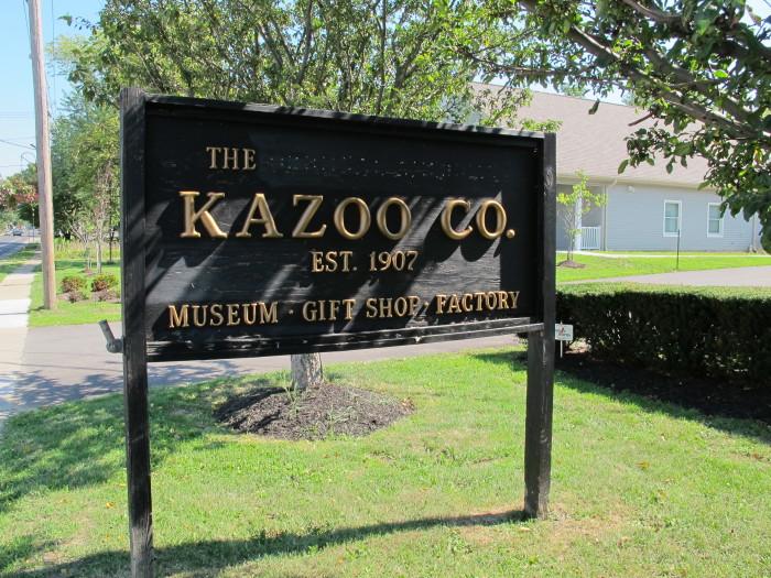 1. Kazoo Factory & Museum, Eden