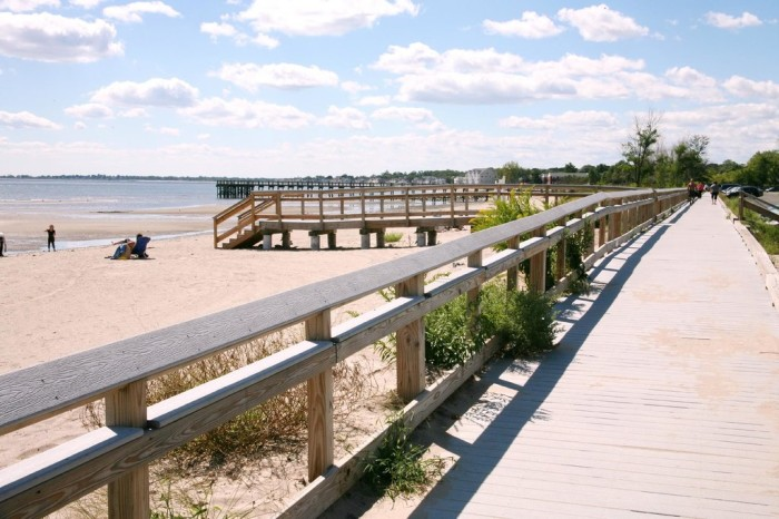 5. Silver Sands State Park (Milford)