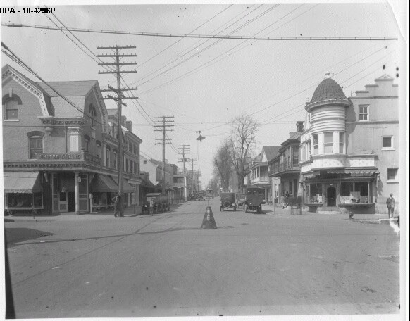 10. This photograph of the four corners in Smyrna looks very much like the scene today, with a few exceptions, the most of which being the means of transportation.