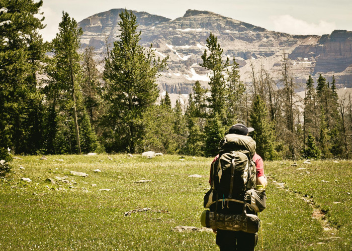 6. Find some solitude in the remote wilderness…