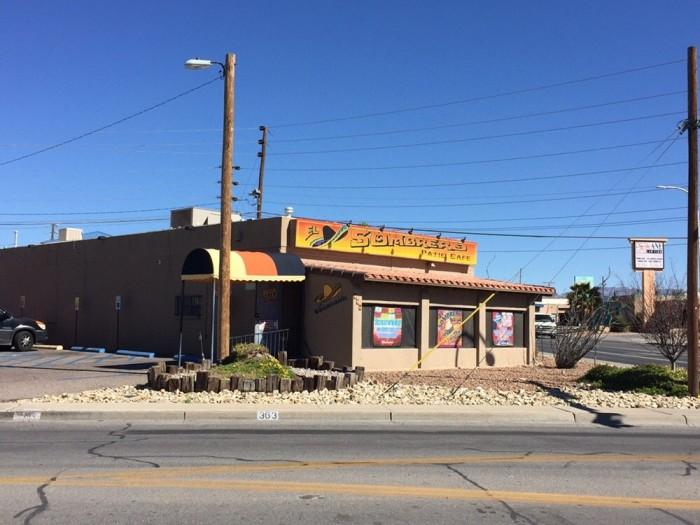 12. El Sombrero Patio Café, 363 S Espina Street, Las Cruces