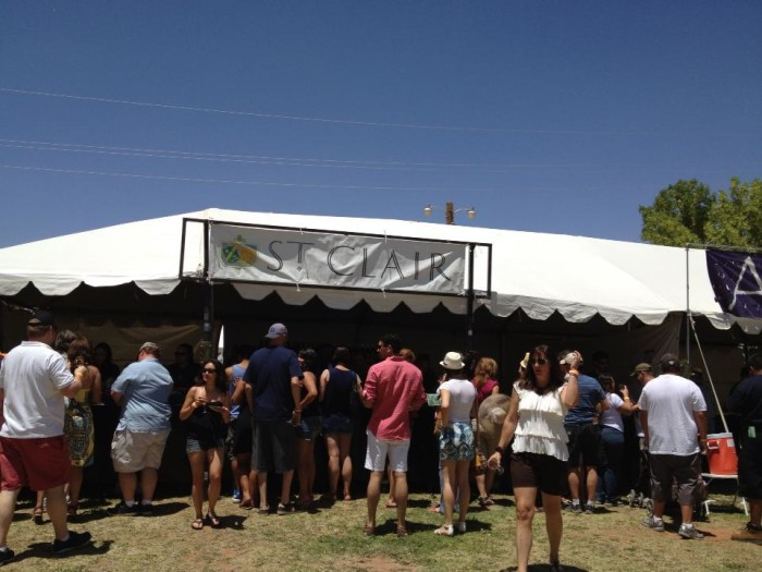 1. Southern New Mexico Wine Festival, Las Cruces