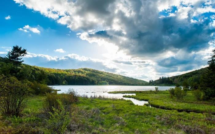 5. Spruce Knob Lake