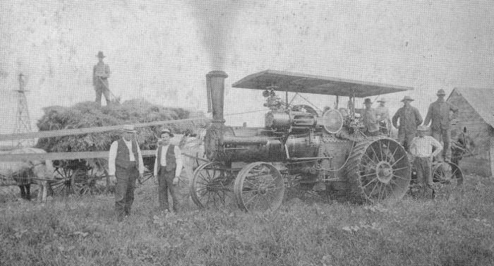 steam wagon