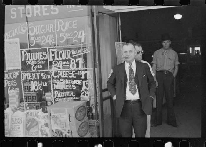 9. Store Owner, Amite City, October 1939