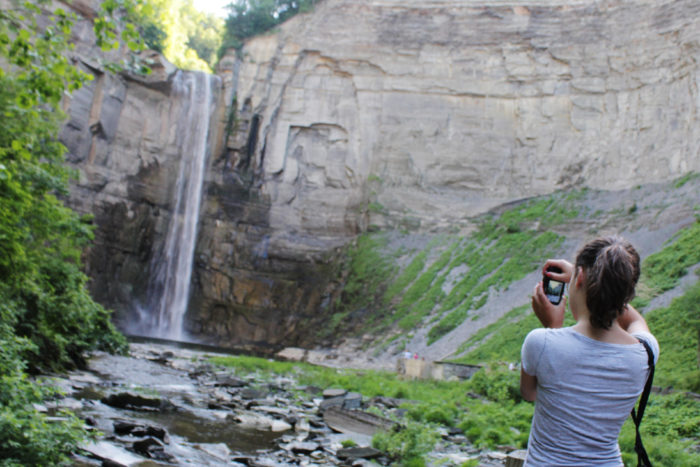 10. Stretch your legs and pack your camera; exploring Taughannock Falls State Park is something you'll want to photograph.