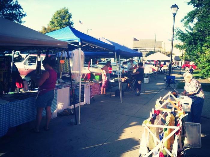 4. Teche Area Farmers Market