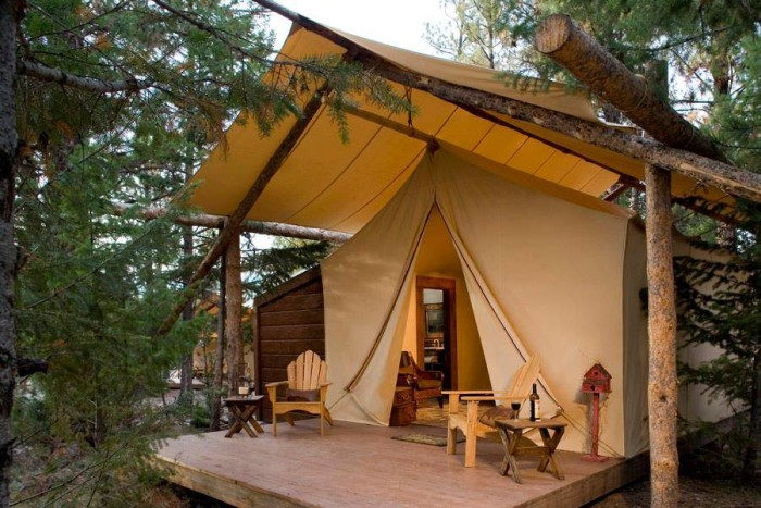 15 Amazing Luxury Glamping Camping Destination In America