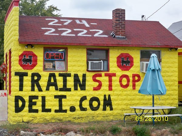 4. Train Stop Deli - Anderson