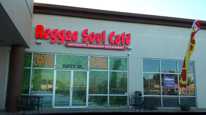 9. Reggae Soul Cafe, Salisbury