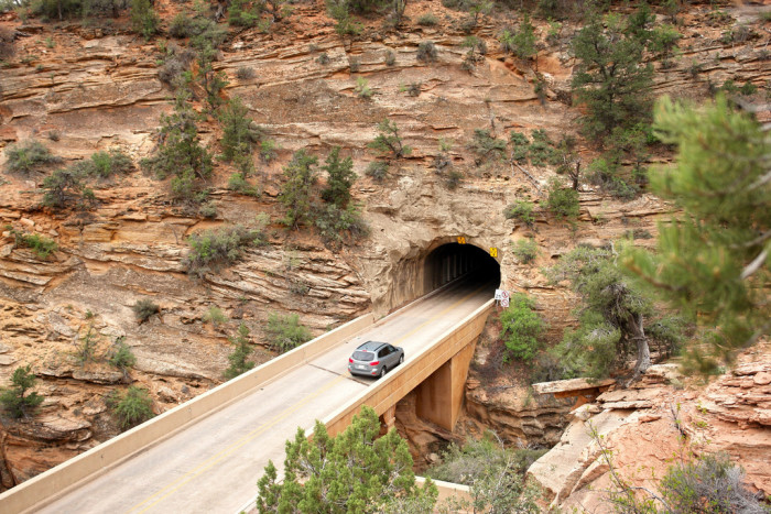 5. The Mt. Carmel Tunnel is more than a mile long.