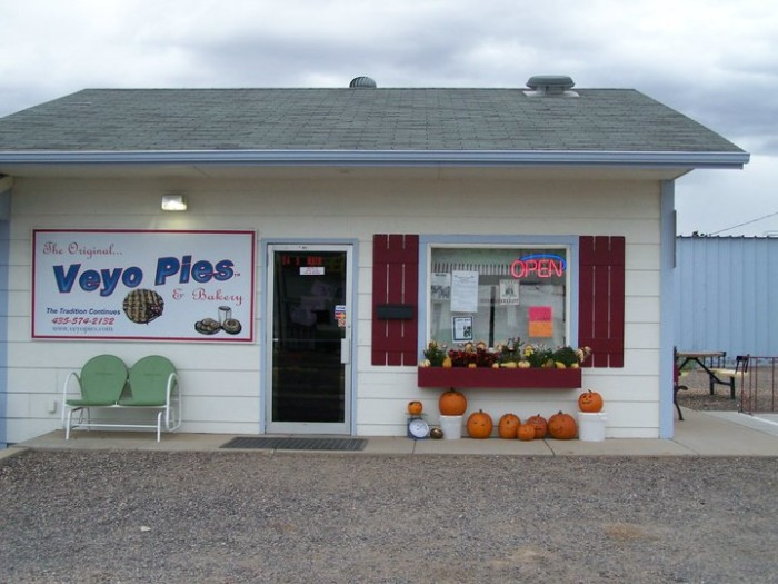 12. Veyo: Best pies in the state.