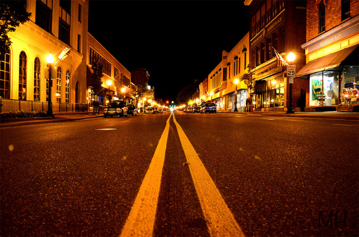 6. The historic downtown is quite walkable...