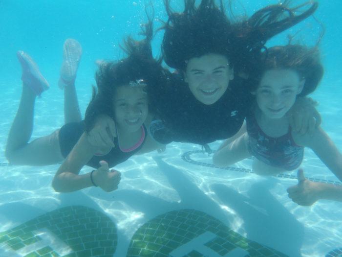 3. Swimming
