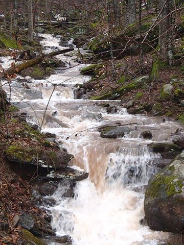 9. Waterfall at Snowshoe