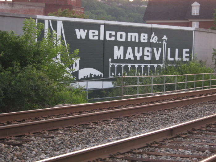 5. Welcome to Maysville.