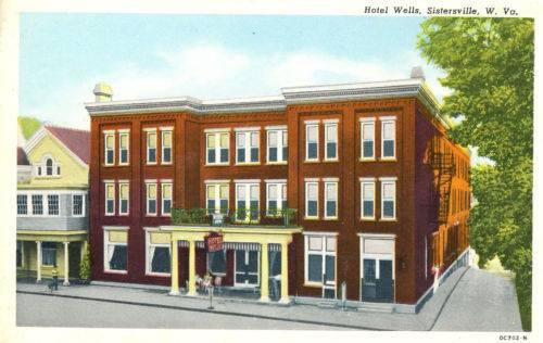wells inn postcard