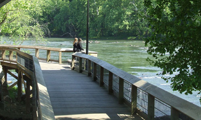 8. Cayce and West Columbia, SC - The Congaree River
