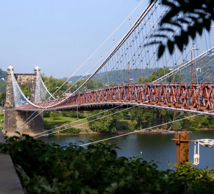 2. Wheeling Suspension Bridge, Wheeling