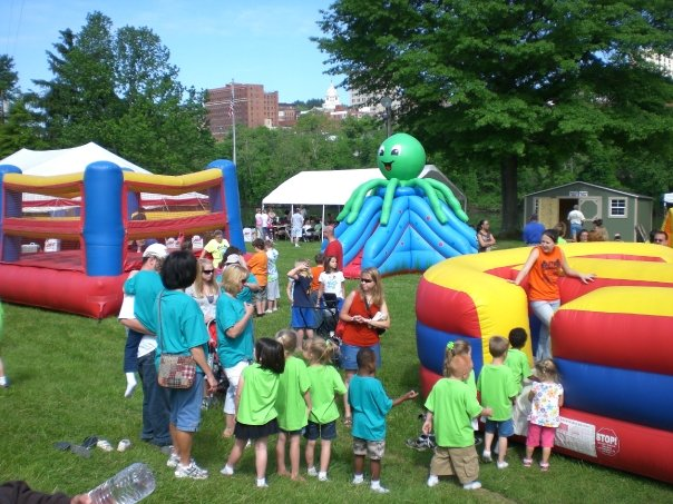 wv three rivers festival inflatables