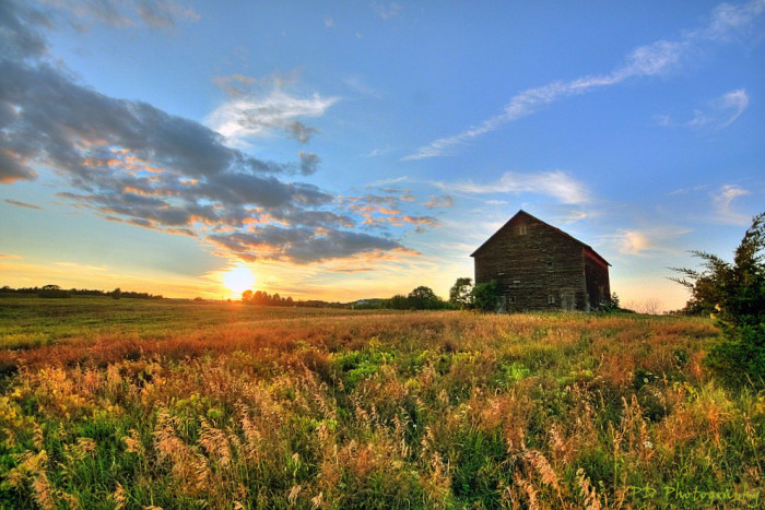12. Beautiful farms that remind you of simpler times.