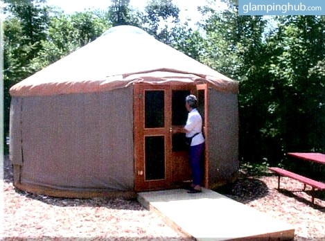 3. Luxury Yurts, College Park