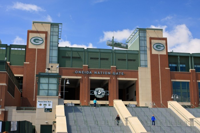 12. The new Packers Hall of Fame is two stories and 15,000 square feet.