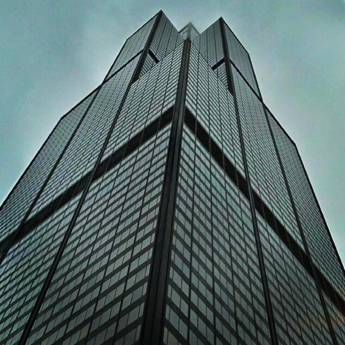 8. Willis Tower has 4.56 million gross square feet.