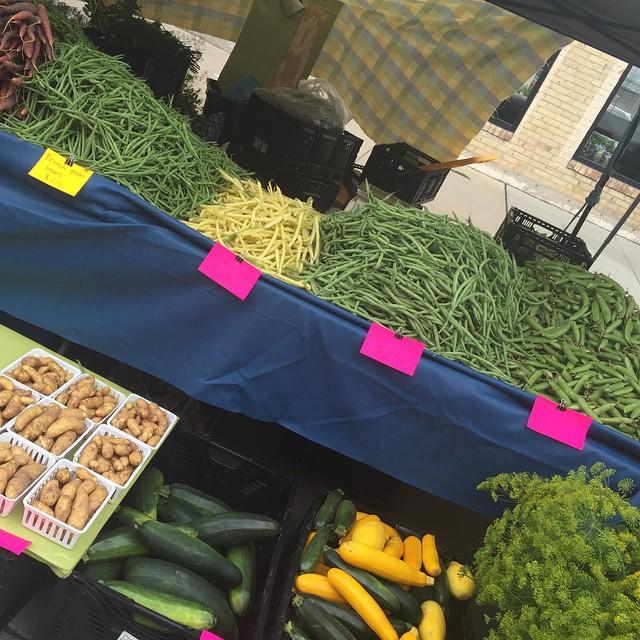 4. Farmers Market on Broadway
