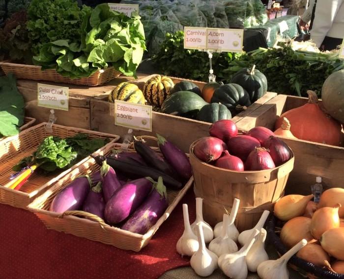 5. Hilldale Farmers Market