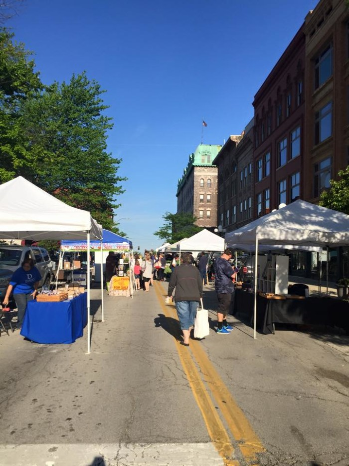 8. Downtown Bloomington Farmers Market