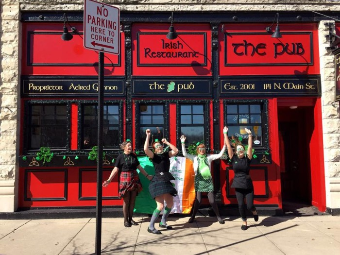 3. The Pub provides an Irish pub experience, but you don't have to go to Ireland to get it. Slàinte!