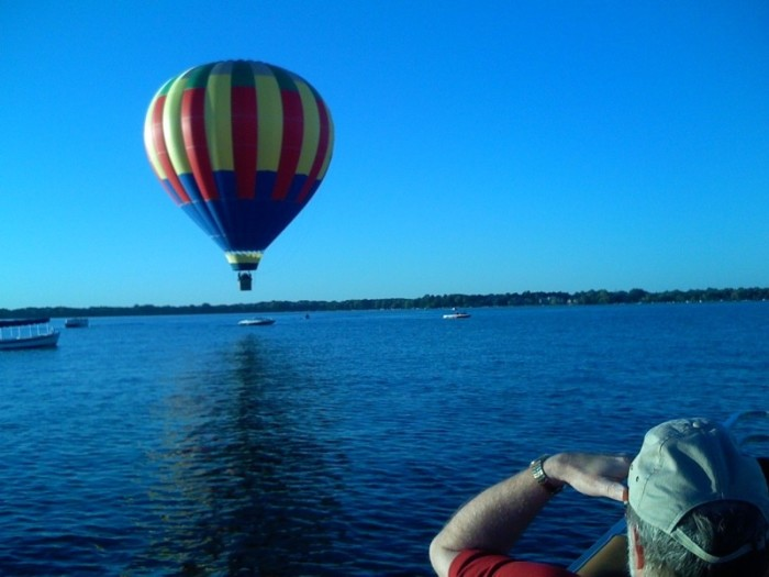 5. You can fly in a hot air balloon in Oconomowoc at Balloons Unlimited.