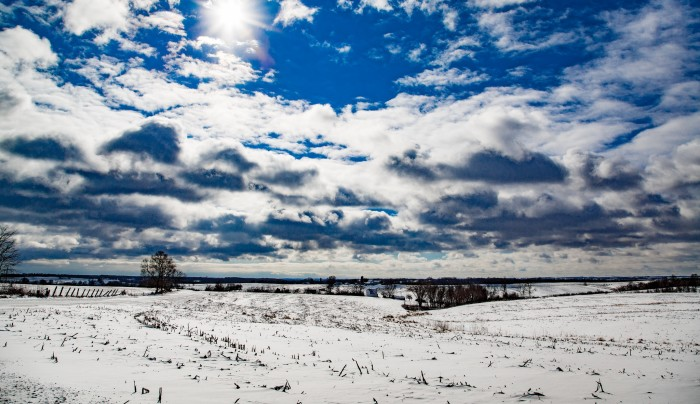 2. Even though we curse it sometimes, Wisconsin just looks stunning with a fresh coat of snow.