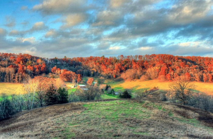 8. In no place in the United States is fall more gorgeous than right here in Wisconsin.